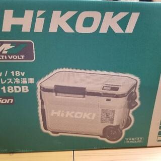 ヒタチ(日立)のHiKOKI 冷温庫 UL18DB フォレストグリーン ハイコーキ バッテリー付(その他)