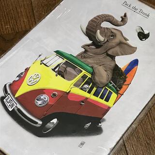 Volkswagen - フォルクスワーゲン typeII ぞうさん ブリキ看板