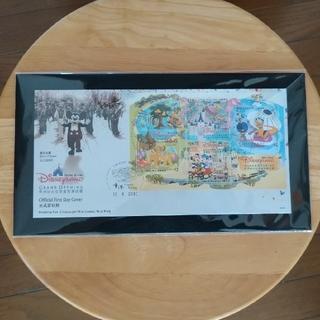 ディズニー(Disney)の香港ディズニーランド オープニング記念切手(使用済み切手/官製はがき)