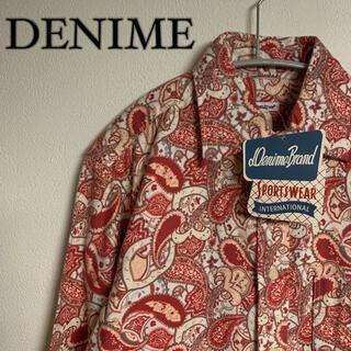 ドゥニーム(DENIME)の【新品未使用】DENIME ドゥニーム ペイズリー 総柄 シャツ タグ付き(シャツ)