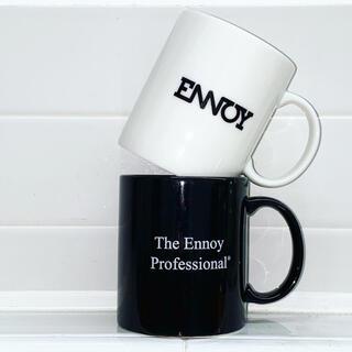 ワンエルディーケーセレクト(1LDK SELECT)の2個セット ennoy エンノイ ロゴ マグカップ スタイリスト私物 (グラス/カップ)