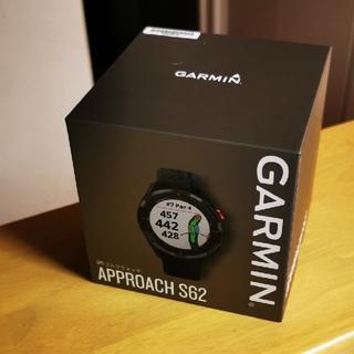 ガーミン(GARMIN)の【新品・未使用】ガーミン Approach S62 ブラック(その他)
