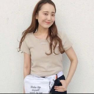 カスタネ(Kastane)のカスタネ リブTシャツ(Tシャツ(半袖/袖なし))
