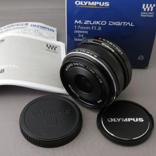 OLYMPUS - オリンパス M.ZUIKO DIGITAL17mmF1.8BLACK