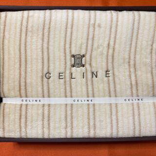 セリーヌ(celine)の新品 CELINE コットンボアシーツ(シーツ/カバー)