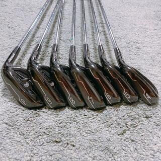 クリーブランドゴルフ(Cleveland Golf)のクリーブランド CG Black アイアンセット 7本組 4-P Rフレックス (クラブ)