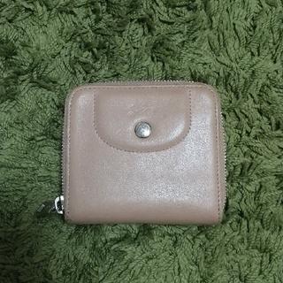ロンシャン(LONGCHAMP)のLONGCHAMP 二つ折り財布 ヌメ革(財布)