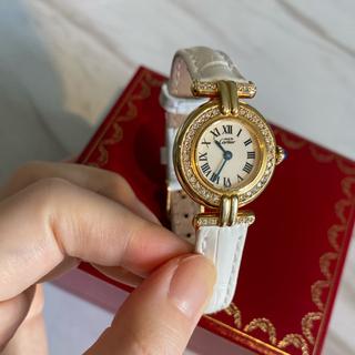 CARTIER カルティエ コリゼ ゴールド ダイヤモンド レディース 腕時計(腕時計)