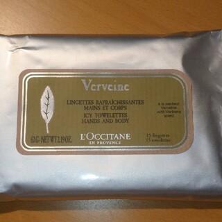 ロクシタン(L'OCCITANE)のVWアイスタオレッス(ハンド&ボディ ふきとり用化粧水)(その他)