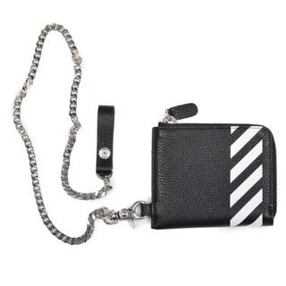オフホワイト(OFF-WHITE)のオフホワイト OFF-WHITE c/o VIRGIL ABLOH 財布(折り財布)