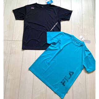 フィラ(FILA)の新品 FILA フィラ M メンズ Tシャツ 半袖 吸水速乾 ドライ まとめ売り(Tシャツ/カットソー(半袖/袖なし))