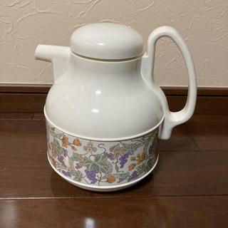 ゾウジルシ(象印)の象印 昭和レトロ 葡萄柄ポット(調理道具/製菓道具)