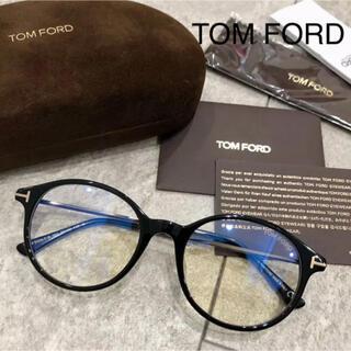 TOM FORD - TOMFORD 黒縁 メガネ 伊達眼鏡 トムフォード ブラック 黒 ブルーカット