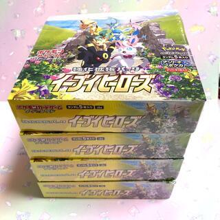 ポケモン(ポケモン)のイーブイヒーローズ シュリンクつき 4box(Box/デッキ/パック)
