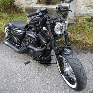 Harley Davidson - スポーツスター フォーティーエイト ハーレー カルト フォーク カバー ブーツ