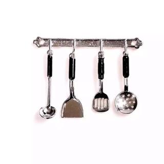 新品 ミニチュア キッチンツール 調理器具 ドールハウス ミニチュア家具(ミニチュア)