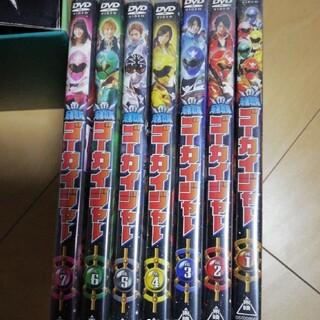 バンダイ(BANDAI)の海賊戦隊 ゴーカイジャー DVD 7個セット(特撮)
