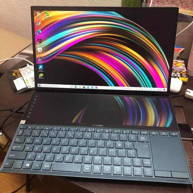 ASUS(エイスース)のASUS  ZenBook Duo UX481  スマホ/家電/カメラのPC/タブレット(ノートPC)の商品写真