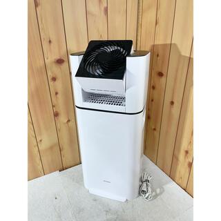 アイリスオーヤマ(アイリスオーヤマ)の美品 アイリスオーヤマ サーキュレーター 衣類乾燥除湿機 2021年製(衣類乾燥機)
