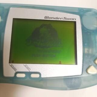 バンダイ(BANDAI)のワンダースワン チョコボの不思議なダンジョン(携帯用ゲームソフト)