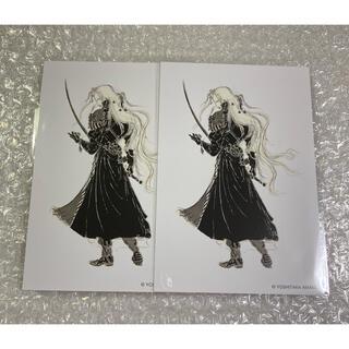 新品未使用 天野喜孝 天野展 会場限定 ポストカード セフィロス 2枚(印刷物)