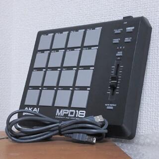 AKAI MPD18 パッドコントローラ
