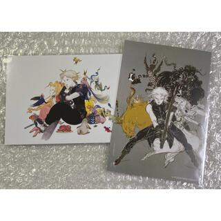 新品未使用 天野喜孝 天野展 会場限定 ポストカード FF7 2枚 ①(印刷物)