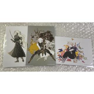 新品未使用 天野喜孝 天野展 ポストカード 3枚セット(印刷物)