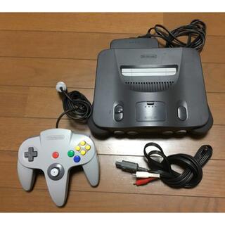 NINTENDO 64 - Nintendo64本体&マリオストーリー(カセットのみ)