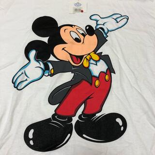 ディズニー(Disney)の90s DEADSTOCK US製 ミッキーマウス 大盤プリント Tシャツ XL(Tシャツ/カットソー(半袖/袖なし))