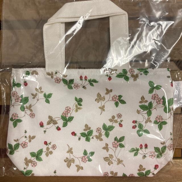 WEDGWOOD(ウェッジウッド)のウェッジウッドワイルドストロベリー柄ミニトート レディースのバッグ(トートバッグ)の商品写真