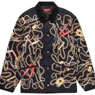 シュプリーム(Supreme)の新品未使用 Supreme Chains Quilted Jacket Lサイズ(その他)