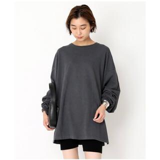 ドゥーズィエムクラス(DEUXIEME CLASSE)のDeuxieme Classe 【KURO/クロ】 ロングスリーブTシャツ(Tシャツ/カットソー(七分/長袖))