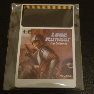 エヌイーシー(NEC)のPCエンジン Huカード ロードランナー ロストラビリンス(家庭用ゲームソフト)