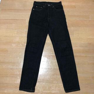 リーバイス(Levi's)の美品 90s Levi's 626-53 ブラック テーパード ジーンズ 30(デニム/ジーンズ)