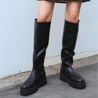 ジーナシス(JEANASIS)のJEANASIS ビガーロングブーツ Mサイズ(ブーツ)