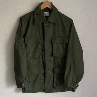 コモリ(COMOLI)のデッドストック アメリカ軍 bduジャケット ジャングルファティーグジャケット(ミリタリージャケット)