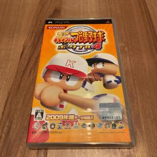 コナミ(KONAMI)の実況パワフルプロ野球ポータブル4 PSP(携帯用ゲームソフト)