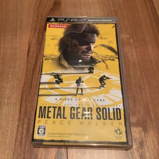 コナミ(KONAMI)のメタルギア ソリッド ピースウォーカー PSP(携帯用ゲームソフト)