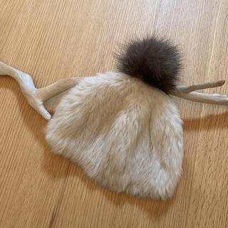 ドゥーズィエムクラス(DEUXIEME CLASSE)のhestia ラビットファー帽(ニット帽/ビーニー)