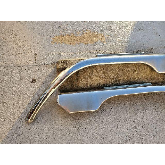 三菱(ミツビシ)の三菱ふそう NEWキャンター JET メッキ フロントフェンダー デコトラ 自動車/バイクの自動車(トラック・バス用品)の商品写真
