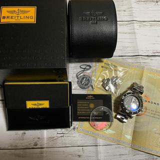 ブライトリング(BREITLING)のブライトリングBREITLING スーパーオーシャン44 自動巻き 腕時計 中古(腕時計(アナログ))