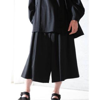 Yohji Yamamoto - Yohji Yamamoto POUR HOMME 20SS ウールハーフパンツ