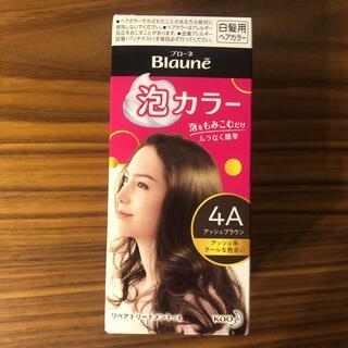 カオウ(花王)の花王ブローネ 泡カラー 白髪用ヘアカラー 4A アッシュブラウン(白髪染め)