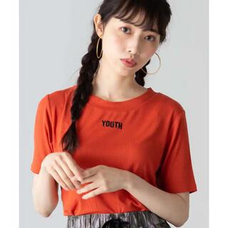 ウィゴー(WEGO)の刺繍ロゴリブTシャツ  WEGO(Tシャツ/カットソー(半袖/袖なし))