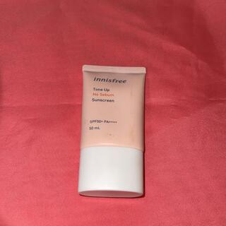 イニスフリー(Innisfree)のInnisfree tone up NoSebum Sunscreen(化粧下地)