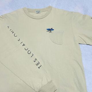 ロンハーマン(Ron Herman)のTES エンドレスサマー フィンポケット付ワンポイント刺繍ロンT L(Tシャツ/カットソー(七分/長袖))