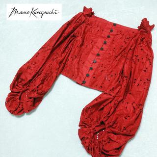 マメ(mame)のMame Kurogouchi マメクロゴウチ ブラウス 刺繍 日本製(シャツ/ブラウス(長袖/七分))