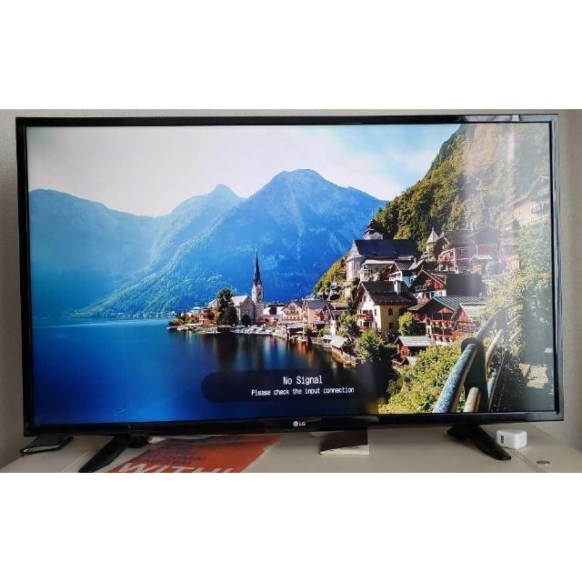 LG Electronics(エルジーエレクトロニクス)の【leeclub様専用】LG 43V型液晶テレビ -JE マジックリモコン付 スマホ/家電/カメラのテレビ/映像機器(テレビ)の商品写真