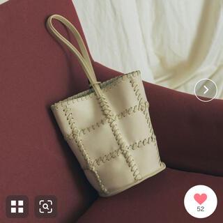 アーバンリサーチ(URBAN RESEARCH)のJAMIRAY☆ CORD PATCH BUCKET BAG(ハンドバッグ)